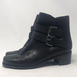 Stuart Weizmann eastside double strap leather 7.5